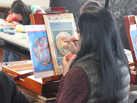Renuka - Thangka Painter